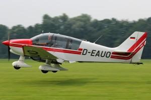 """Unser Arbeitspferd, die """"Remo"""" Robin DR-400"""