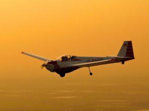 """Die """"Einstiegsdroge"""" in der Motorflug für Segelflug-Piloten: Unser """"Falke"""""""