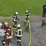 Feuerwehrübung auf dem Flugplatz