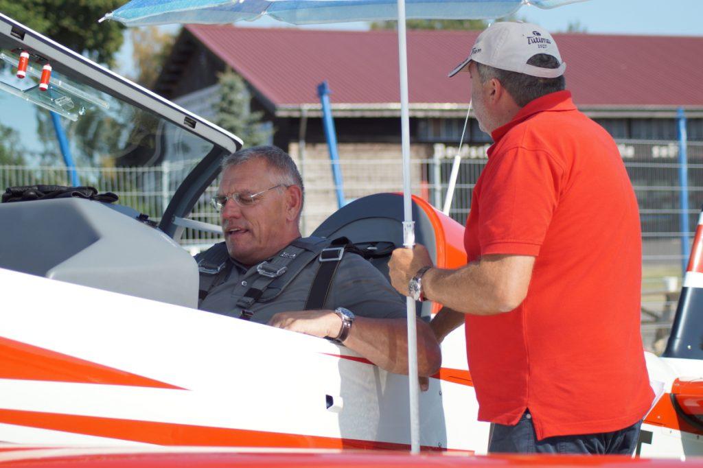 Deutsche Meisterschaft Motorkunstflug - zum ersten Mal dabei
