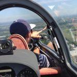 Zum ersten Mal mit Max fliegen