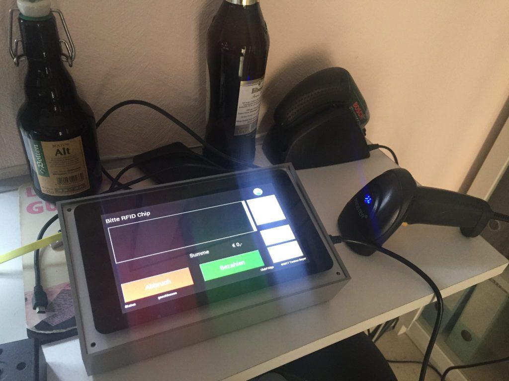 Digitalisierung der Bar