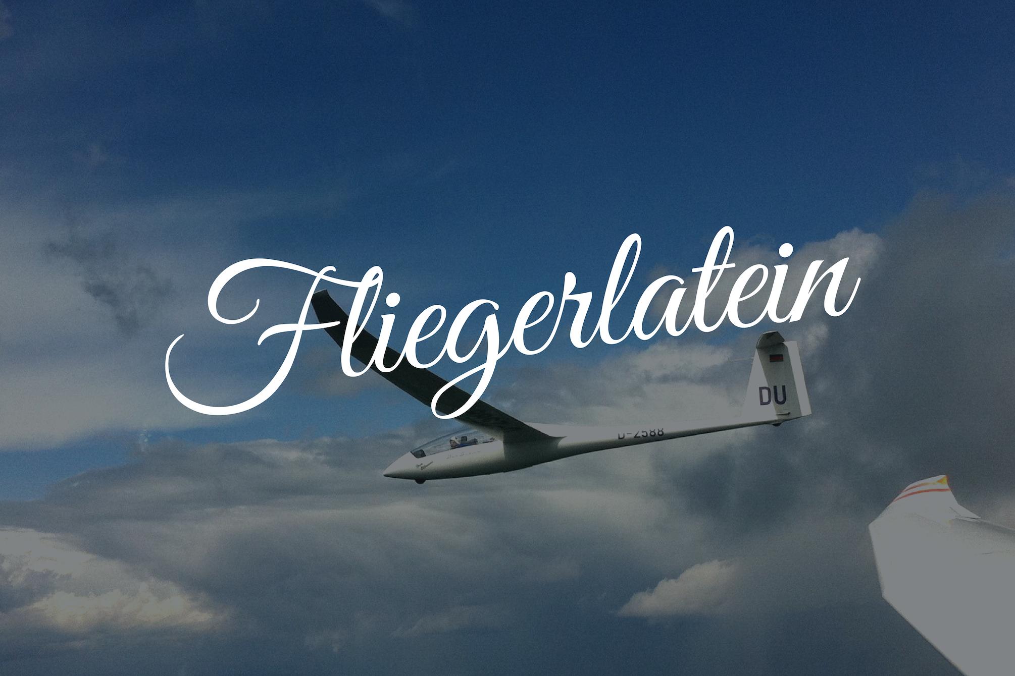 Fliegerlatein