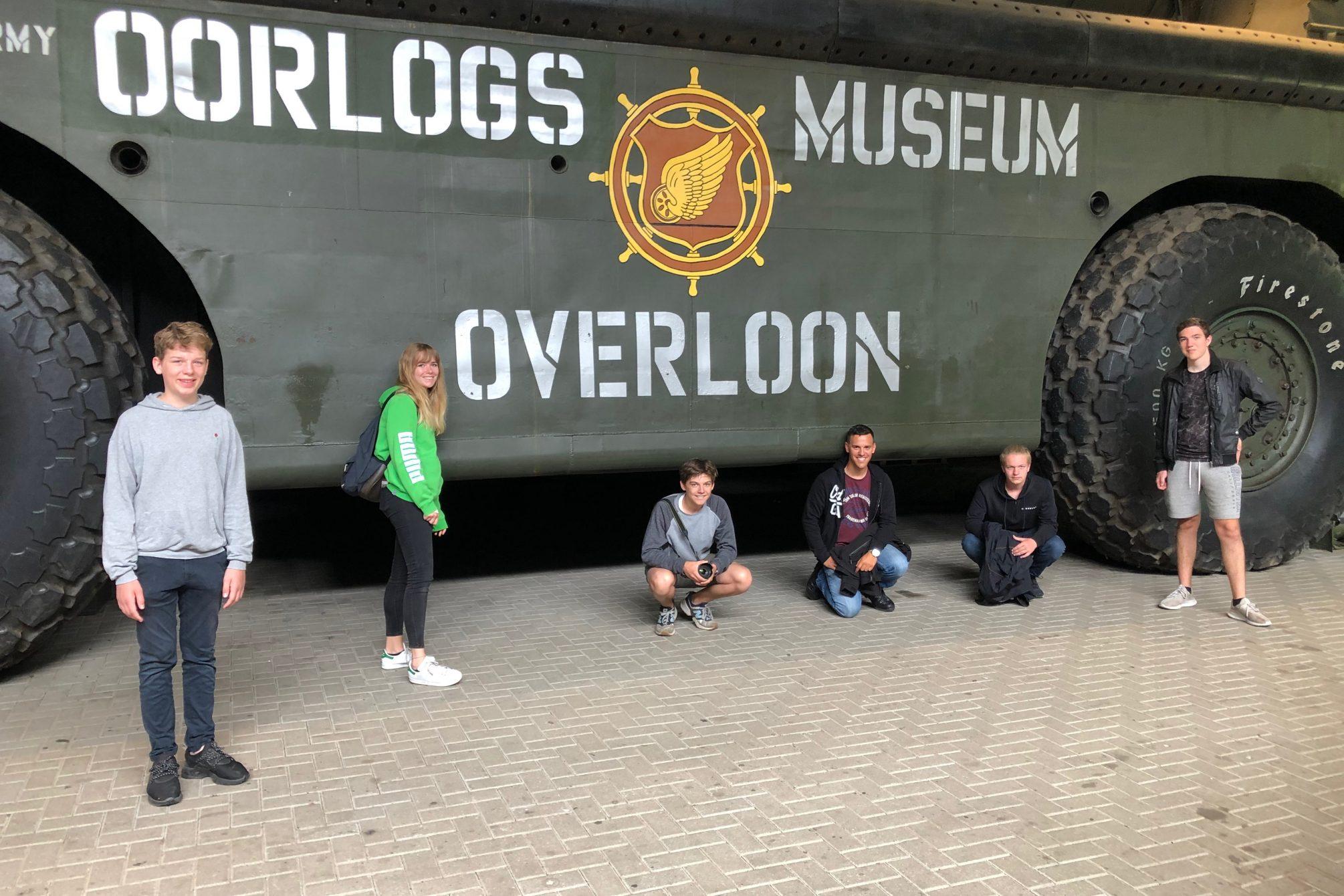 Ausflug ins Oorlogs Museum Overloon